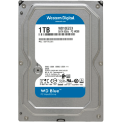 WDC WD10EZRZ HDD intern WD Blue 3.5 1TB SATA3 5400RPM 64MB