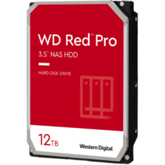 WD Red Pro 12TB SATA 6Gb/s 256MB Cache Internal 3.5inch 24x7 7200rpm optimized for SOHO Nas Systems 1-24 Bay HDD Bulk